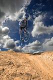 Gebirgsradfahren Lizenzfreie Stockfotografie