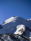 Gebirgsspitze Stockbild