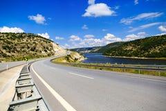 Gebirgsstraße in der Türkei Stockfoto