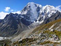 Gebirgsszenische Landschaft Autumn Himalayas stockbilder