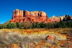 Gebirgswüstenlandschaft Sedona Arizona stockfoto