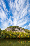 Gebirgswolken Stockfotos
