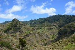 Gebirgszug auf Teneriffa, Kanarische Inseln, Spanien, Europa Lizenzfreie Stockfotos