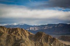 Gebirgszug in Leh Ladakh Stockbild
