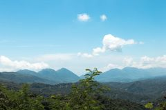Gebirgszug in Taitung, Taiwan Lizenzfreie Stockbilder