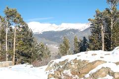 Gebirgszug von Rocky Mountain National Park Lizenzfreie Stockbilder
