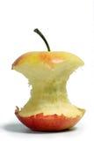Gebissen von einem Apfel. Stockfotografie