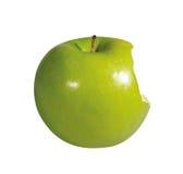 Gebissener Apfel Stockbild