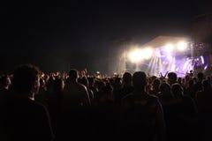 Gebläse auf einem Festival Stockfoto