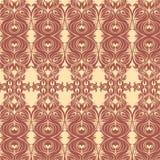 Geblühtes tileable Muster Stockbilder