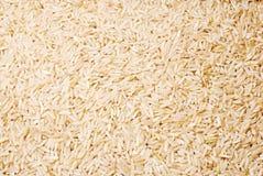 Geblancheerde rijst als achtergrond Stock Foto
