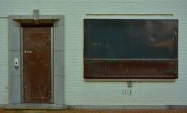 Geblendetes weißes städtisches Haus Lizenzfreie Stockfotografie