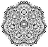 Gebloeide Mandala Royalty-vrije Stock Afbeelding
