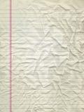 Geblokkeerde document textuur Royalty-vrije Stock Fotografie
