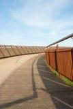 Gebogen brug Stock Afbeeldingen