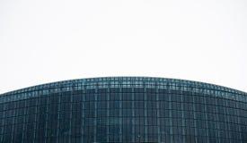 Gebogen horizonnen - het Europees Parlement royalty-vrije stock afbeelding