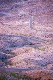 Gebogen Road van Californië Royalty-vrije Stock Afbeelding