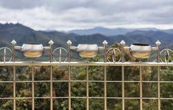Gebogen staal Royalty-vrije Stock Foto's