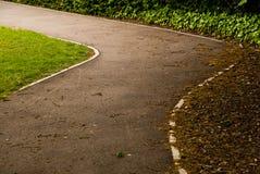 Gebogene Straße Stockbild