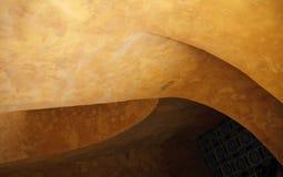 Gebogene Wand lizenzfreies stockbild
