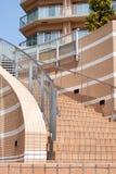 Gebogenes Treppenhaus Stockfotografie