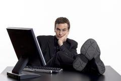 Gebohrt bei der Arbeit Lizenzfreies Stockfoto