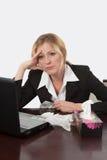 Gebohrt und Kranker der Arbeit Lizenzfreie Stockbilder