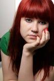 Gebohrtes Mädchen Lizenzfreies Stockfoto