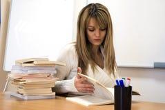 Gebohrtes Studieren Lizenzfreies Stockfoto