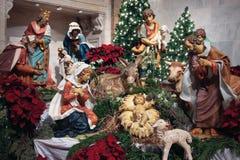 Geboorte van Christus -   Stock Afbeelding