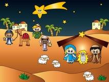 Geboorte van Christus royalty-vrije illustratie