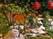 Geboorte van Christus 2 van Kerstmis Royalty-vrije Stock Afbeelding