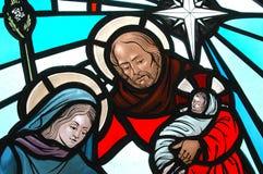 Geboorte van Christus Stock Afbeeldingen