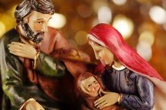 Geboorte van Christus Stock Afbeelding