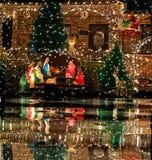 Geboorte van Christus. stock afbeeldingen