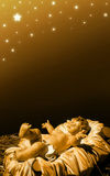 Geboorte van Christus - Baby Jesus Royalty-vrije Stock Fotografie