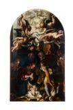 Geboorte van Christus, Bewondering van de herders Royalty-vrije Stock Afbeelding