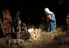 Geboorte van Christusscène Royalty-vrije Stock Afbeelding