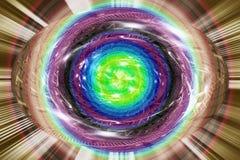 Geboorte van energie Stock Afbeeldingen