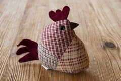 Geborduurde kippen Royalty-vrije Stock Afbeeldingen