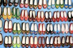 Geborduurde schoenen Royalty-vrije Stock Fotografie
