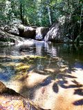 Geboren rivier Royalty-vrije Stock Foto