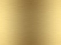 Geborsteld goud Stock Afbeeldingen