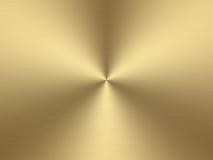 Geborsteld goud Stock Afbeelding