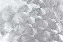 Geborsteld metaal met cirkelpatroon royalty-vrije stock afbeeldingen