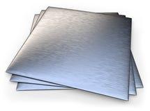 Geborsteld roestvrij staal royalty-vrije stock foto's