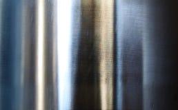 Geborsteld zilveren metaal. Stock Afbeeldingen