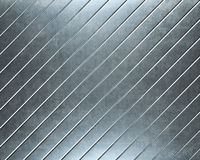 Geborstelde aluminium metaalplaat nuttig voor backgro Royalty-vrije Stock Afbeelding