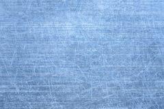 Geborstelde blauwe metaaltextuur Stock Foto's