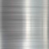 Geborstelde staal metaalplaat royalty-vrije illustratie